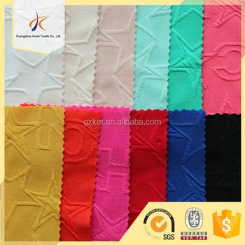 2017 New Fabric Wholesale Star Pattern Knitting Jacquard Ticking