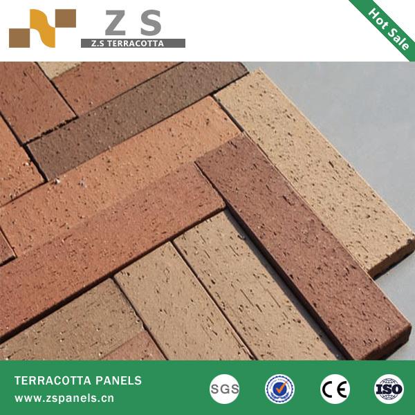 Terracotta Terra Cotta Split Tile Brick Tiles Bricks Architecture Ceramic China Plant Ventilated Facade Cladding