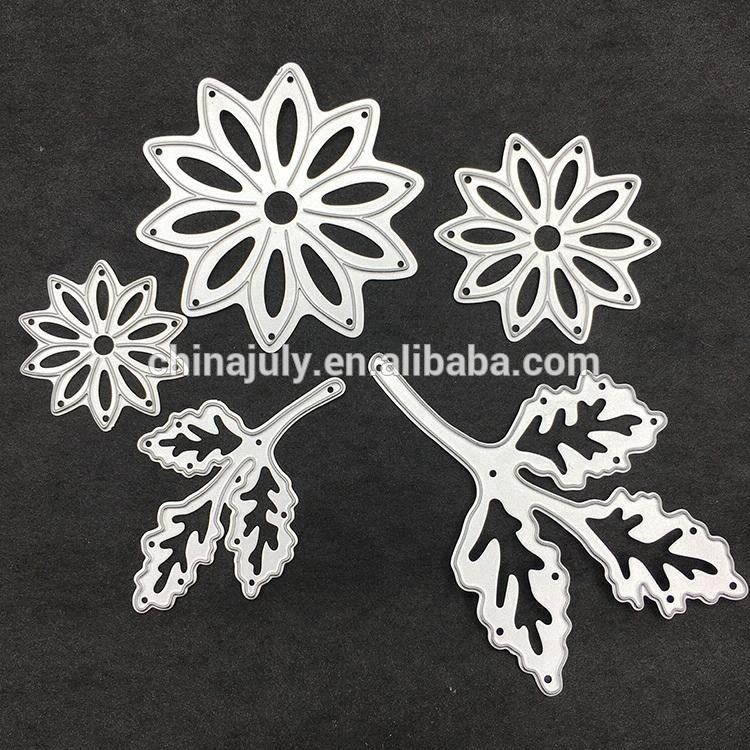 Embossing Cutting Dies Stencils Metal Steel Daisy DIY Scrapbooking Cutting Dies for Paper Crafts Decoration