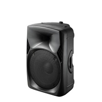 Polinata Professional 15 inch subwoofer Stage outdoor speaker with EQ BT FM Amplifier active trolley DJ sound box