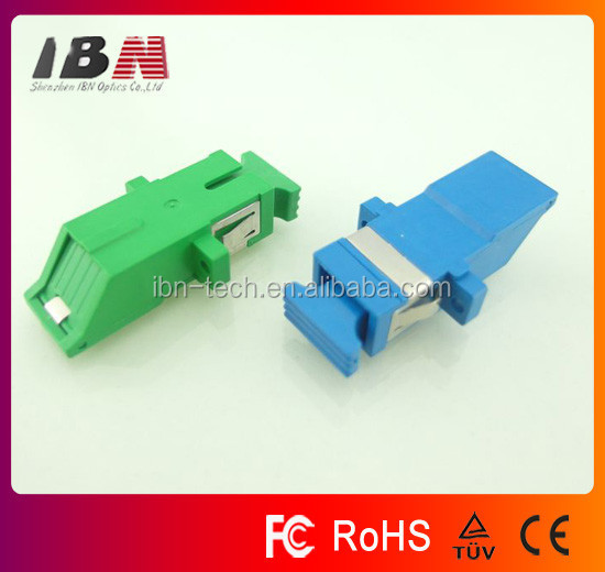 Supply good price SC/UPC/APC Fiber Optic Adapter with internal shutter