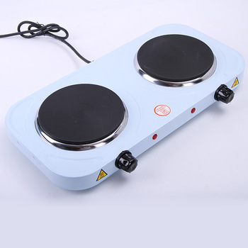 2500w 2 Burner Electric Stove Cooking