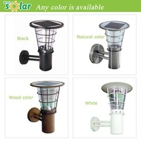 Whaterproof outdoor wall light (JR-2602) led solar wall lamp solar wall light for outdoor