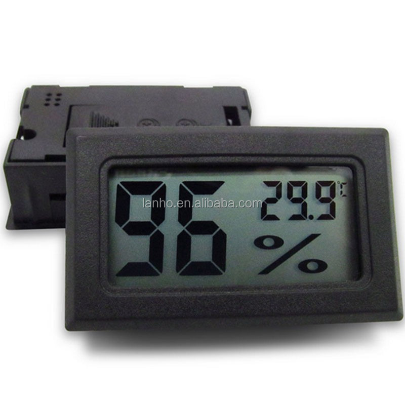 Mini Digital LCD Indoor Temperature Humidity Meter Thermometer Hygrometer