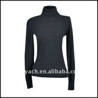 2012 Autumn ladies knitted turtleneck sweater