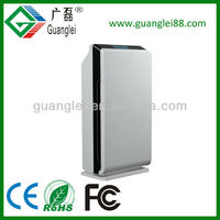 CE Rohs FCC 9 stages Air Cleaner Ozonizer and Ionizer UV HEPA Air Purifier High-Tech LCD Touch Screen Air Quality Sensor