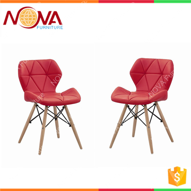 commercial office used cheap colorful comfortable leather wooden legs armless office chairs on sale
