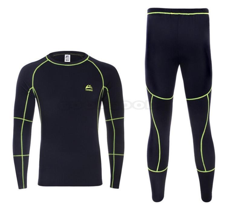 Zhuhaitf Mens Thin Polyamide Thermal Long Sleeve Top Undershirt T Shirt Underwear
