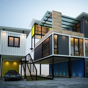 Modern fashionable sandwich panel container house home for house