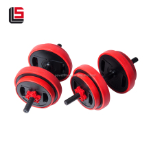 Hot selling painted barbell adjustable fitness weight plates