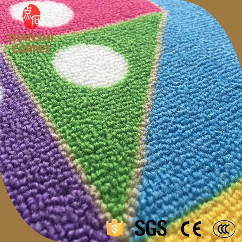 Eco-friendly Decorative Customized Soft Shaggy Baby Toys Flooring Mat