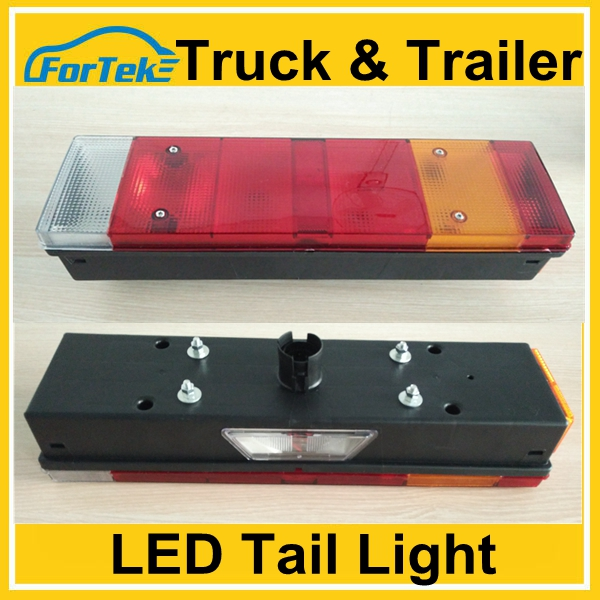 wholesale 12v/24v dump truck led tail light china supply tail lift for truck