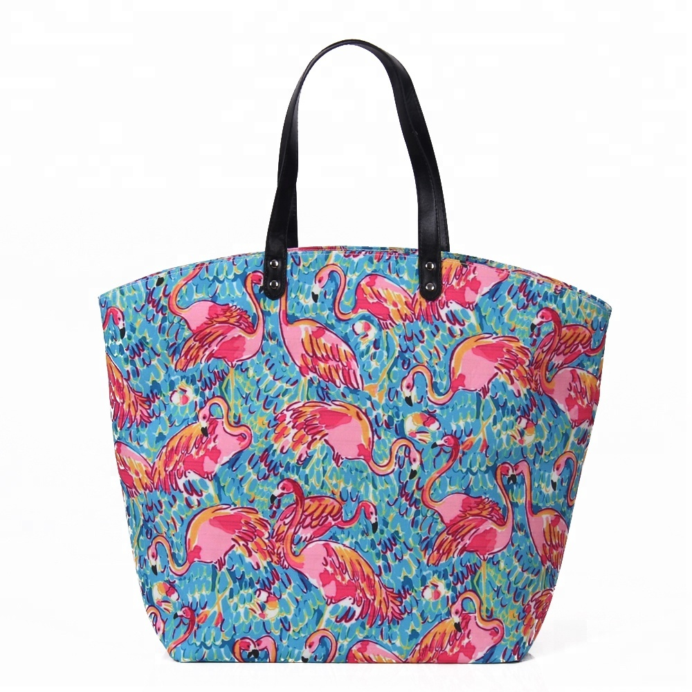 Wholesale Canvas Monogrammed Lilly Pulitzer Inspired <strong>Totes</strong>