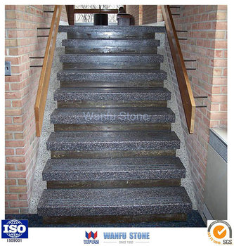 Natural Granite Stairs Prices/ Wholesale Granite Tiles And Stairs/custom  Indoor Stone Stairs