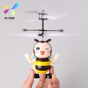 Kid toys flying ufo Remote Control flying toy bees cute toy XY-2034