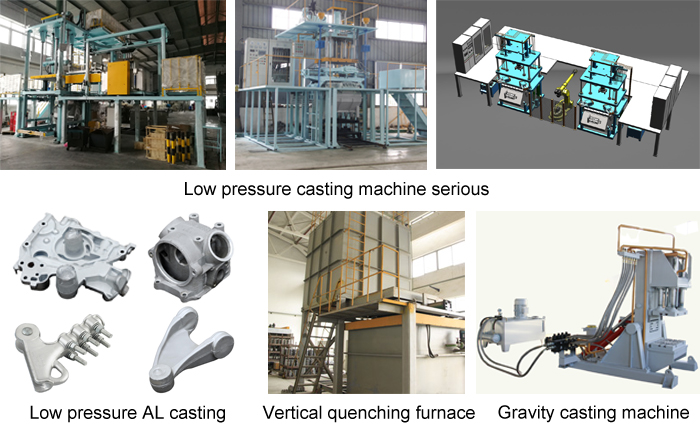 low pressure aluminum casting supplier low pressure casting machine manufacturer