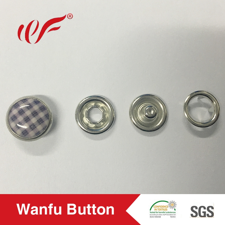Accept custom various pattern clothes pearl prong snap button manufacturer