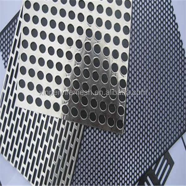 Xp Decorative Perforated Sheet Metal/punching Hole Wire Mesh For ...