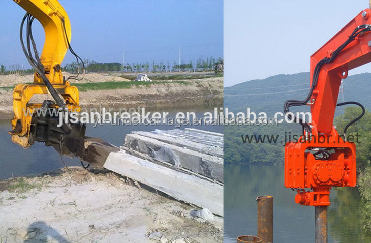 Hydraulic Steel Pile Driver Seaguard Seawall Bulkhead Pile Hammer - Buy  Vibrating Pile Hydraulic,Hydraulic Motor For Pile,Sheet Piling Product on