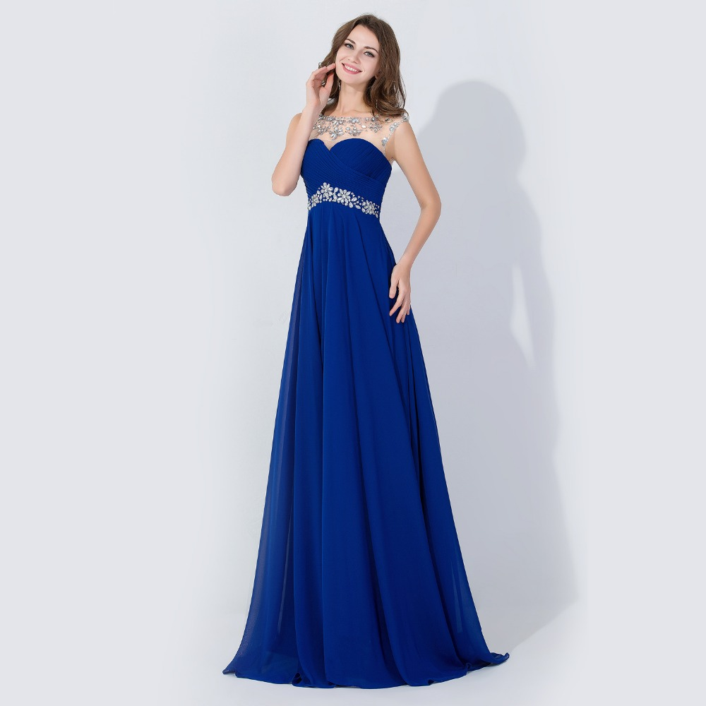 Discount Designer Dresses Cocktail: Under $50 Cheap Price Hot Long Crystal Evening Dress