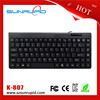 Mini 78 Key Ultra-thin USB Wired Keyboard for Laptop PC