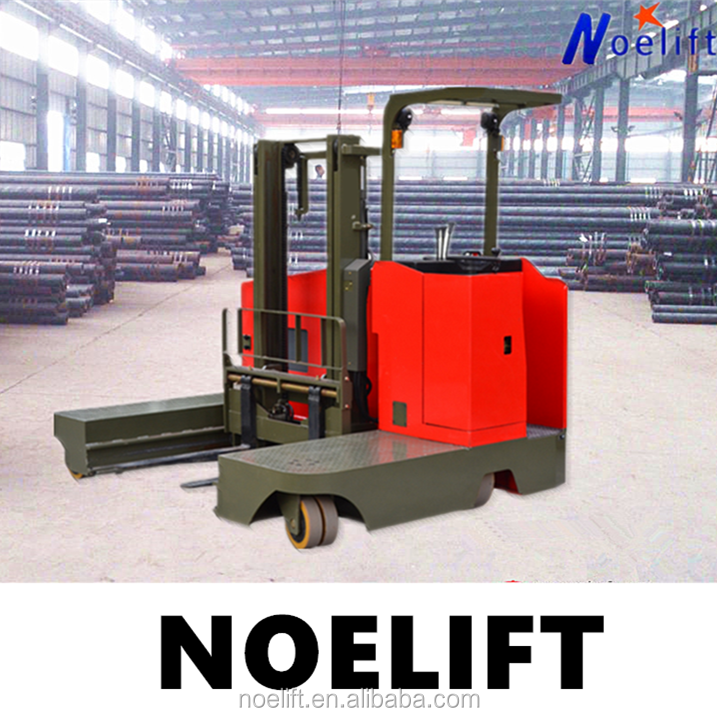 special for long material TD series 1-2.5t electric side loading forklift narrow aisle forklift