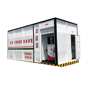 20feet and 40feet portable mobile petrol container gas station