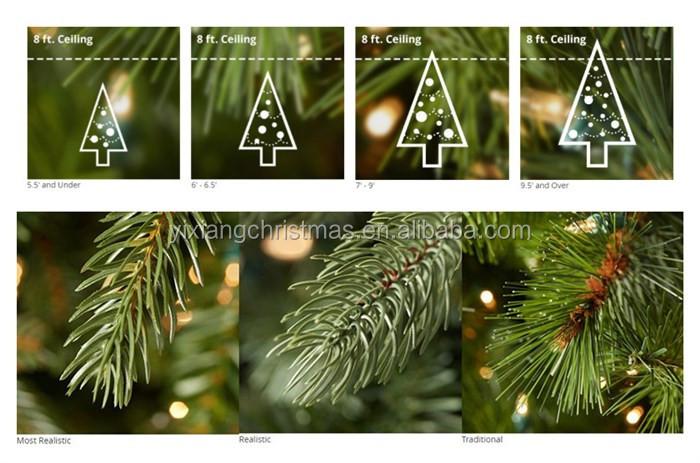 180cml Multi-color Pre-lit Rainbow Christmas Tree