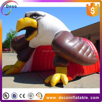Professional race football soccer sport use inflatable tunnel