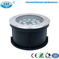 12W 15W 18W AC220V Inground Multicolor Led Underground Light uplight