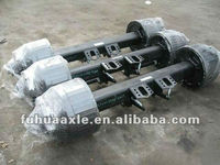 BPW or FUWA trailer and truck wheel axle or suspension series