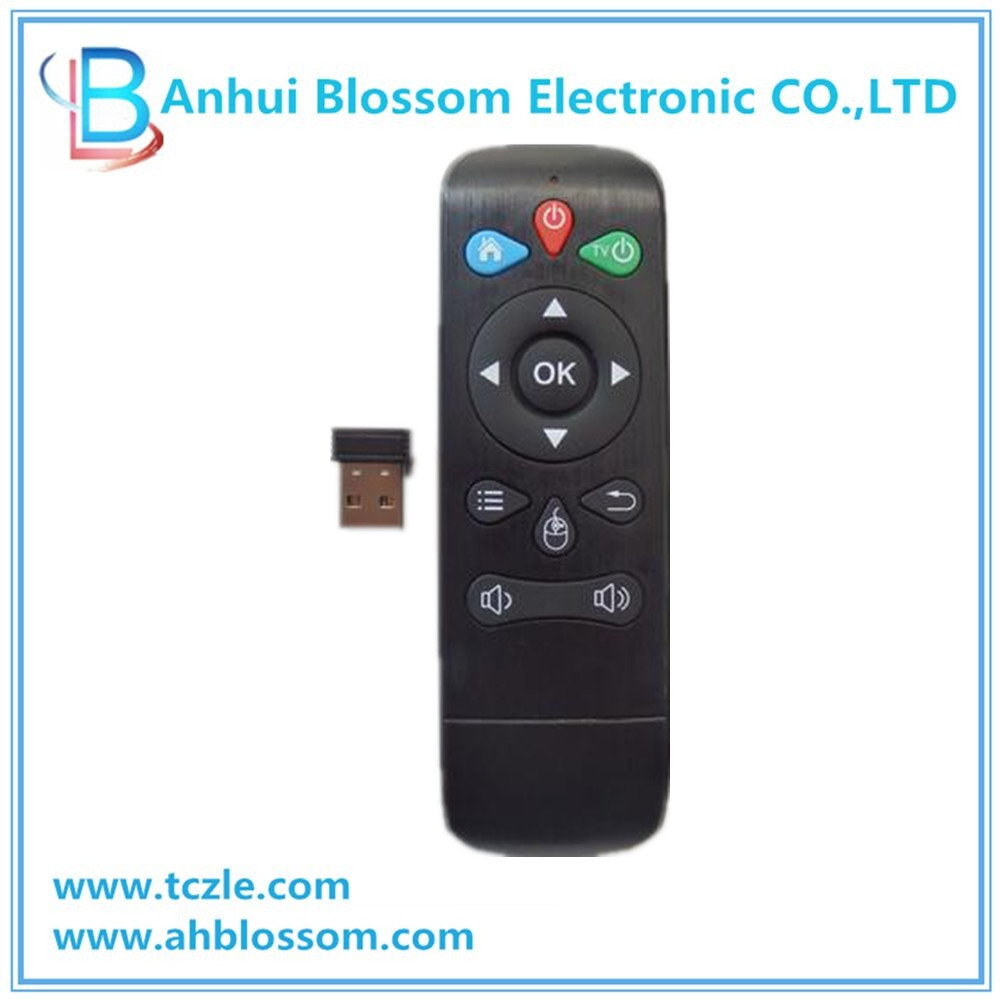 2.4ghz changhong tv remote control for akira in stock