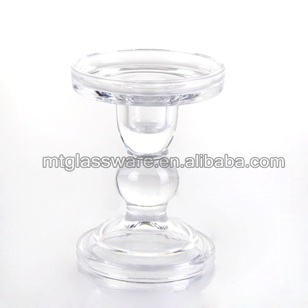 Home decorative crystal candle holder for wedding