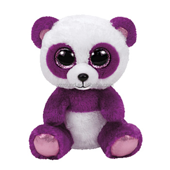 Ty Plush Toy Purple Panda Big Eyes Cute Stuffed Soft Plush Toys ... cf951ed1018d
