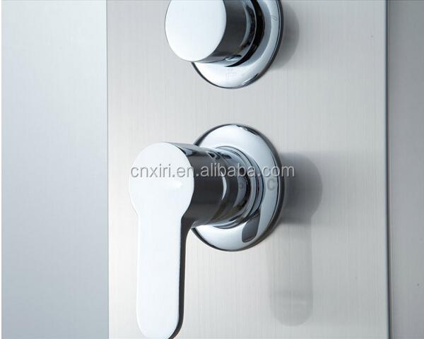 In acciaio inox 304 pannello doccia idromassaggio colonna doccia