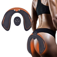 EMS Hip Trainer Fitness Battery Operated Muscle Shaping Equipment Electric Massage Device