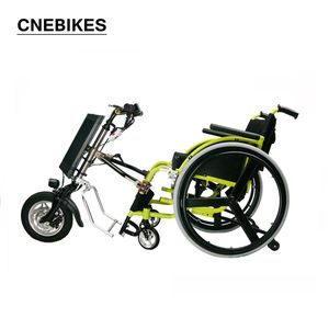 Easy Installation 12inch 36v 350w best quality handcycle for wheelchair