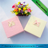 Small pink/yellow watch/rings/earrings/jewelry packaing box with lid