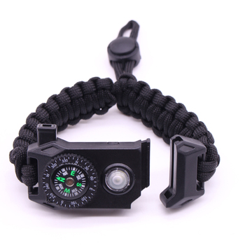 Wholesale Hidden Knife Outdoor Camping Survival Paracord Bracelet