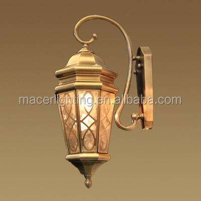 European Outdoor Modern Fancy Wall Lights Lantern
