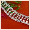 2017 Fashion ladder design beaded trimmings for dress/clothes decorations