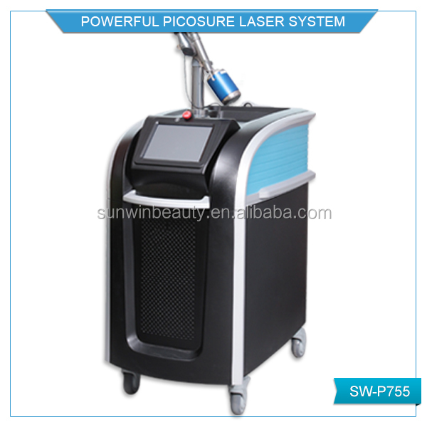 Portable laser machine, 755 laser for spot tatoo ange remove, tattoo removal picosure laser device