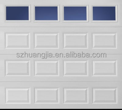 Low noise garage door electric modern double front exterior door