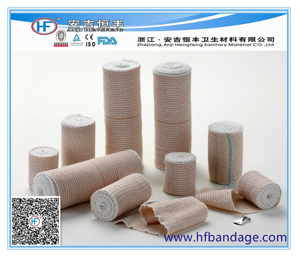Bandage manufacturer with ISO13485/ CE/ FDA certificate hot sale laced high elastic bandage