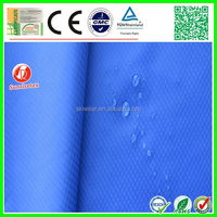 WR waterproof ripstop 1680d polyester fabric with pvc backing