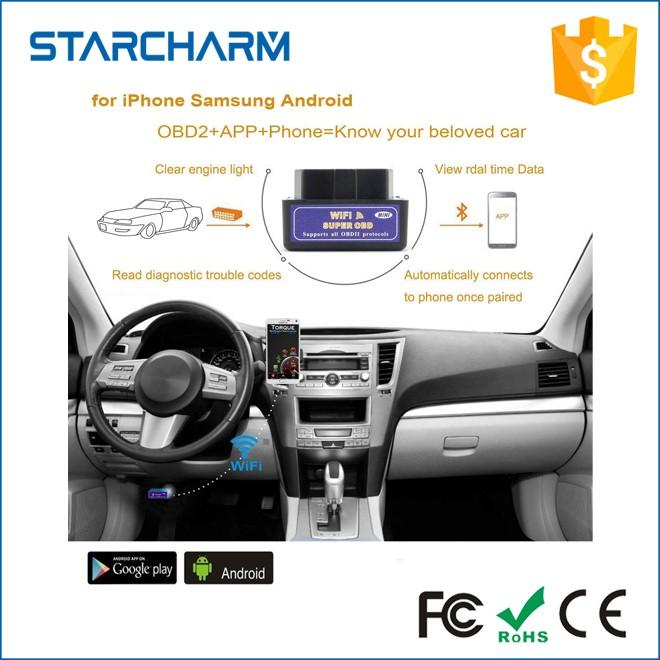 Ce Fcc Rohs V1 5 Obd2 Elm327 Obdii Obd Scanner Wifi Code Reader Universal  Car Auto Diagnostic Tool For Hyundai All Cars - Buy Auto Diagnostic Tool  For