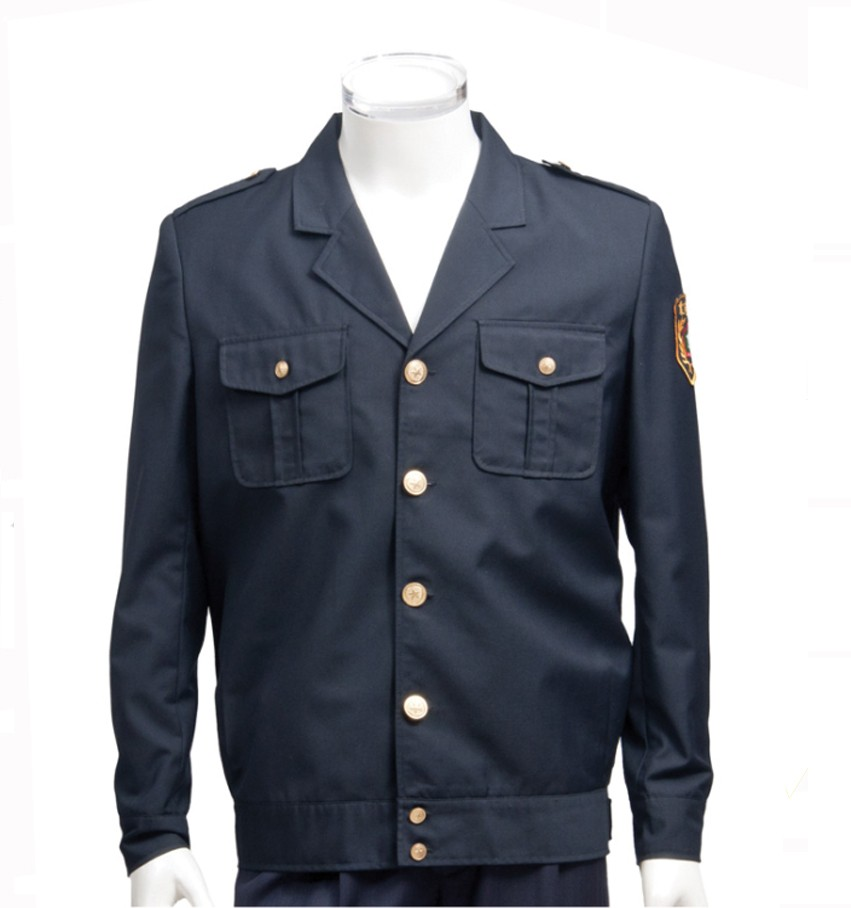 Design Black security guard uniform Jacket