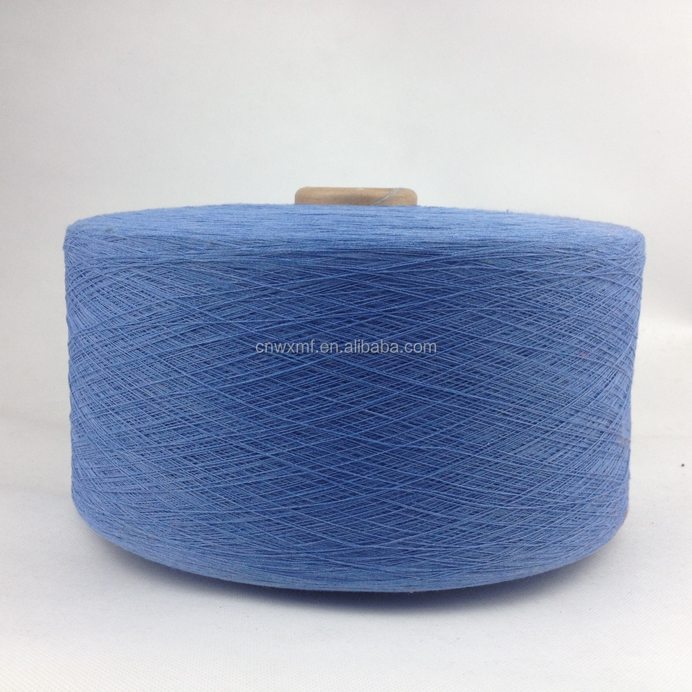 WX-004 10s China supplier hot sale regenerated cotton knitting yarn