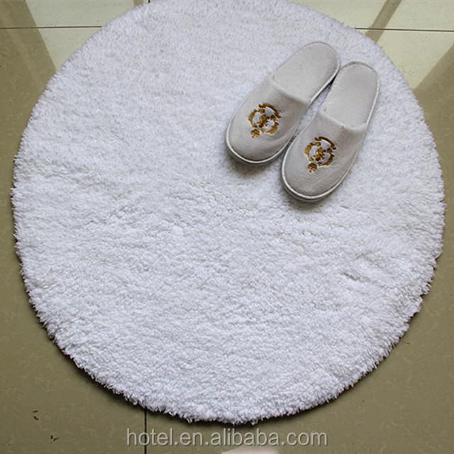 100 cotton washable round bath rugbathroom rugdoor mat