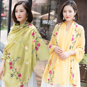 Buy Chiffon Scarf Online China Chiffon Shawl Scarf Decoration Evening Dress